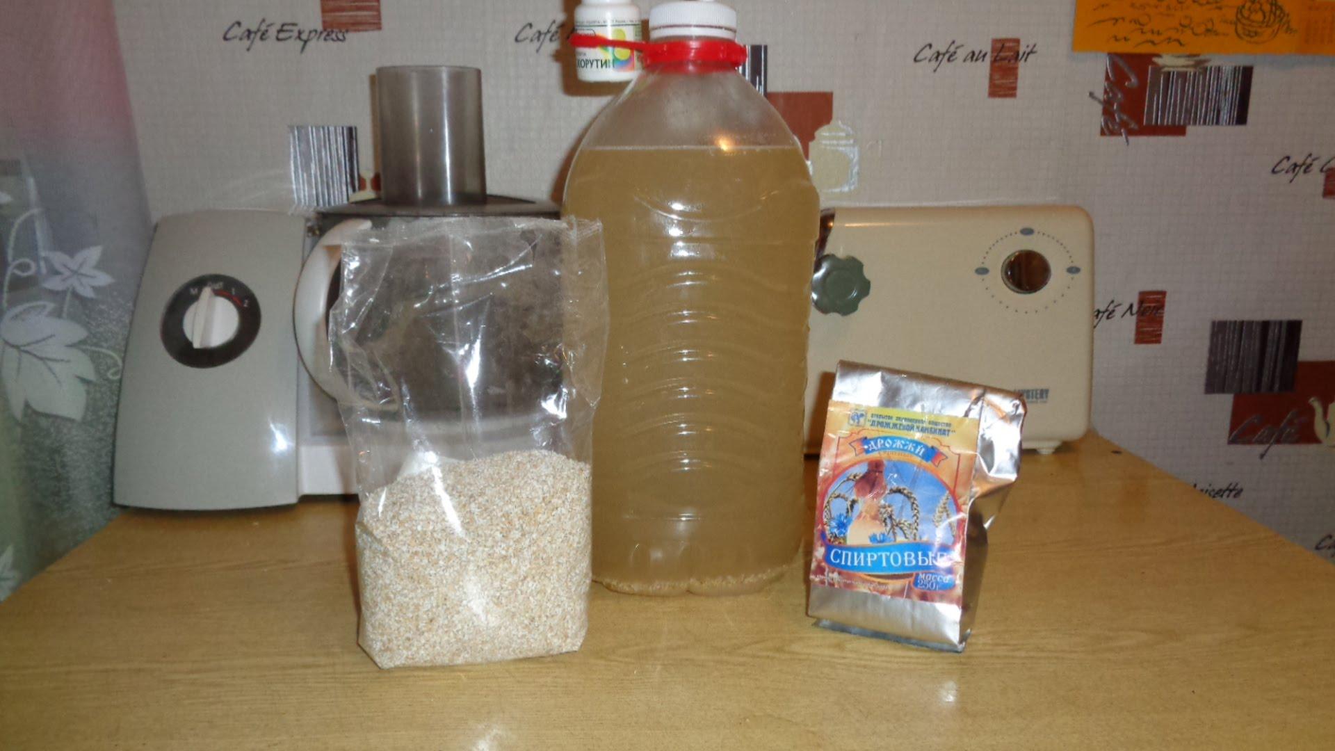 самогон из сахара и спиртовых дрожжей рецепт