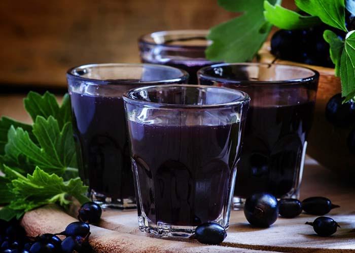 Настойка из черной смородины на водке рецепт
