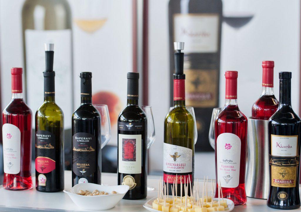 грузинское сухое красное вино названия