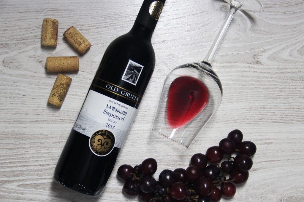 вина из грузии - саперави