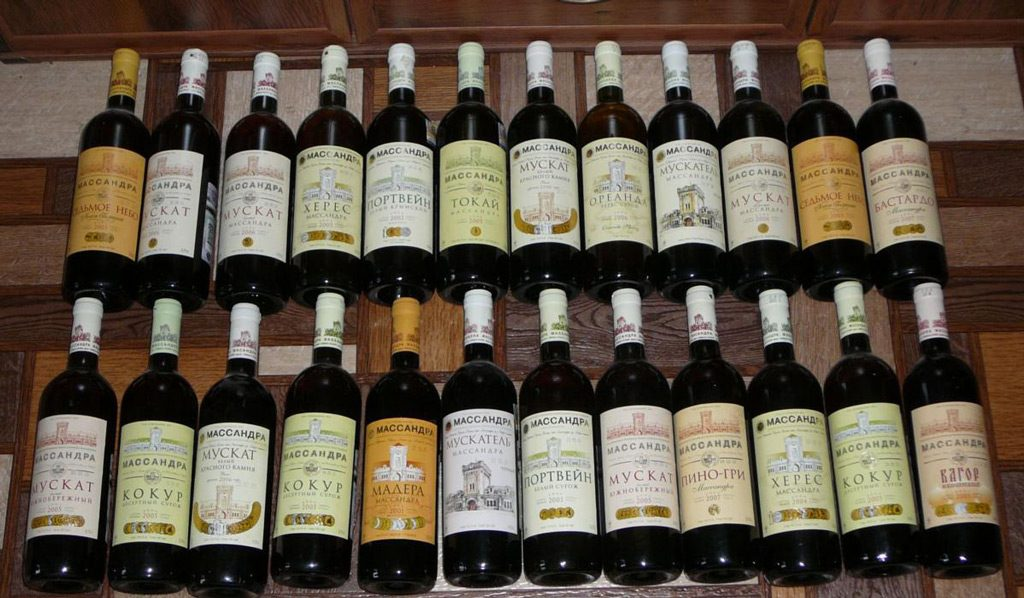 Вина из Крыма