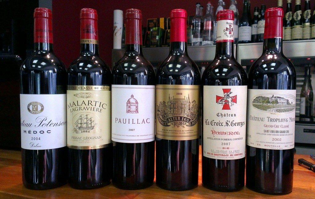 Вино по французски