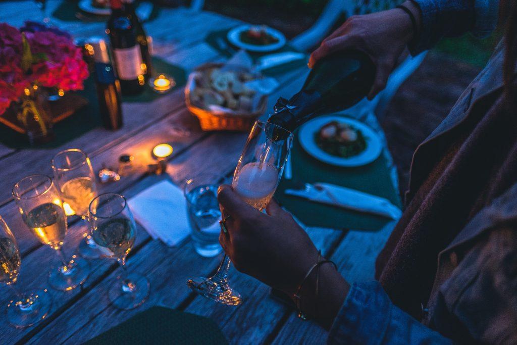 Что пьют с красным вином