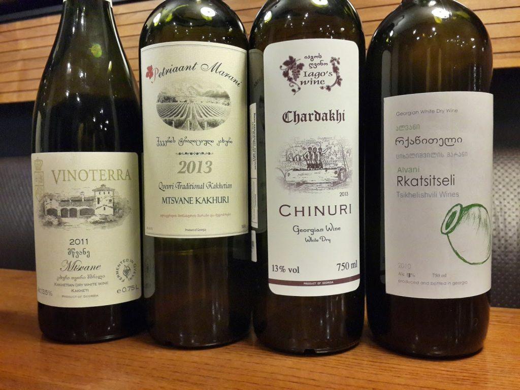 Грузия лучшие белые вина
