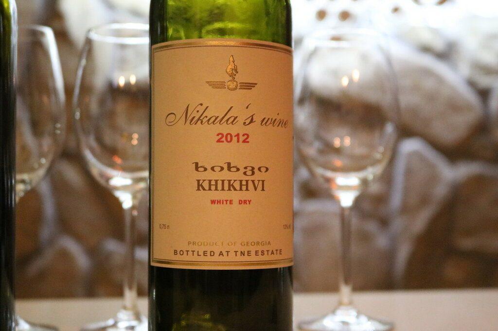 Лучшие белые вина из Грузии