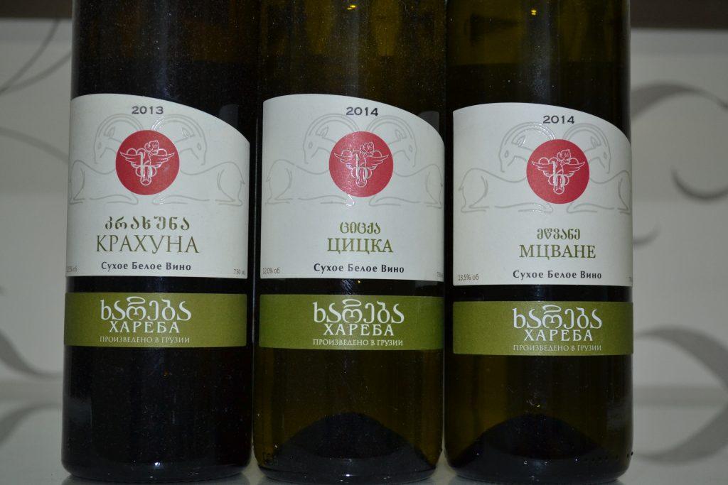 Сорта белого грузинского вина